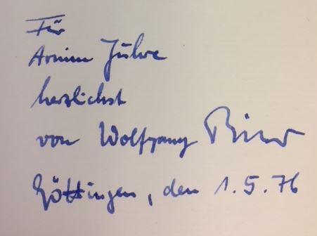 Erste Anzeichen einer Veränderung. Gedichte, Kurzgeschichten und Erzählungen, 1. Auflage - Bittner, Wolfgang.