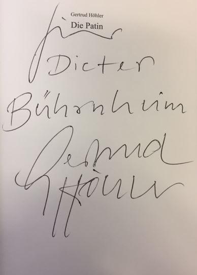 Die Patin. Wie Angela Merkel Deutschland umbaut. 3. Auflage - Höhler, Gertrud.