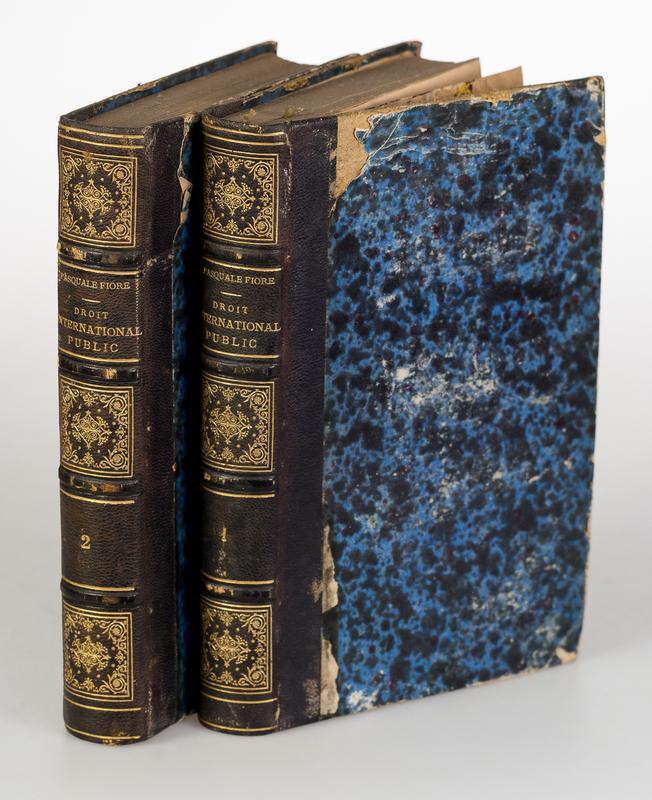 Nouveau droit international public suivant les besoins de la civilisation moderne. 2 vols.