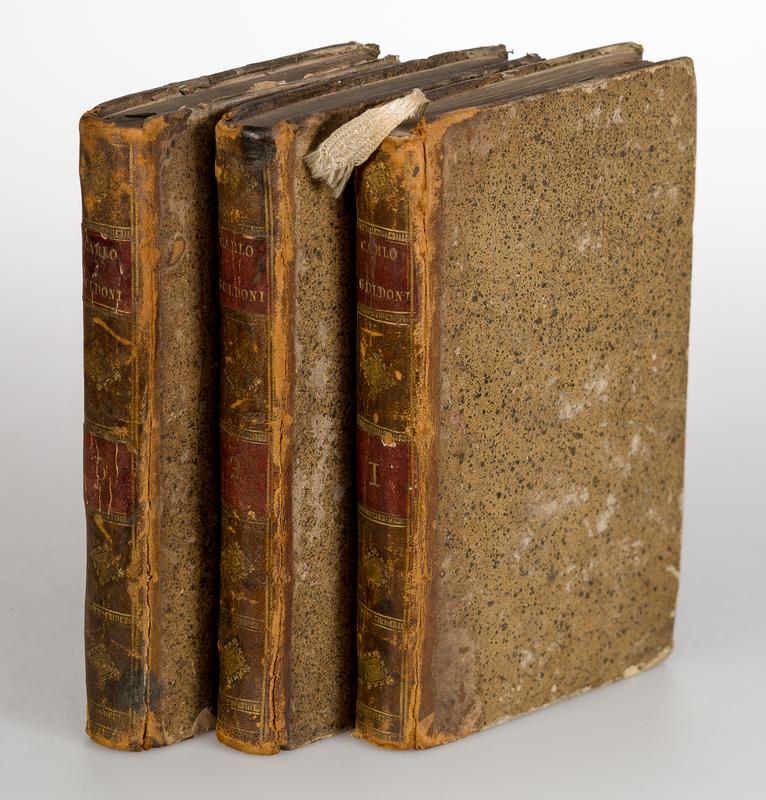 Raccolta completa di tutte le commedie in prosa ed in verso. Bd.3, 4, 8. [3 Bde].