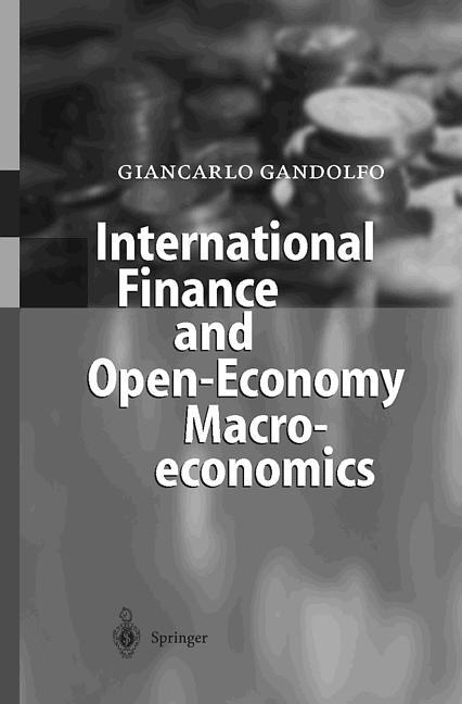 International Finance and Open- Economy Macroeconomics.