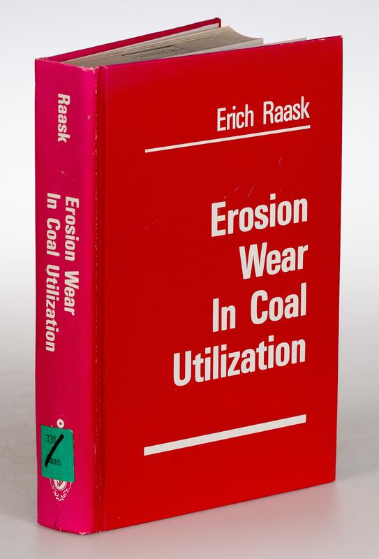 Erosion wear in coal utilization.