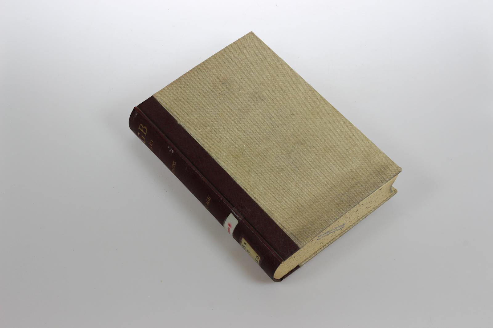 Das Bürgerliche Gesetzbuch. Mit besonderer Berücksichtigung der Rechtsprechung des Reichsgerichts. Band 5: Erbrecht §§ 1922-2385. 8. Aufl.