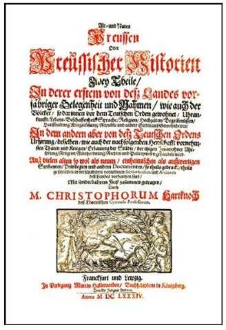 Alt- und Neues Preussen Oder Preussischer Historien Zwey Theile, 2 Bände.