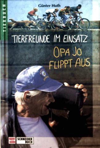 Tierfreunde im Einsatz, Bd.3, Opa Jo flippt aus (schwarzweiß illustriert)