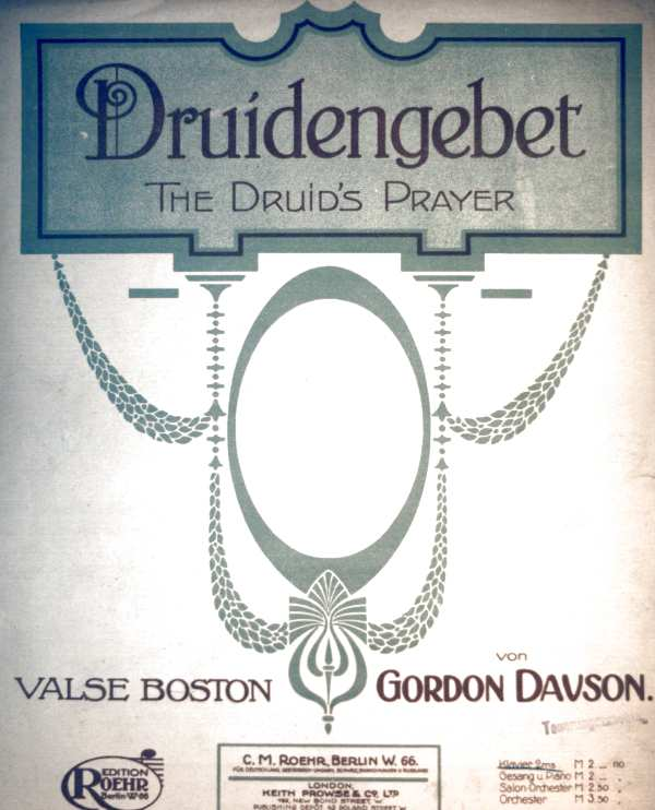 Druidengebet für Klavier- The Druid