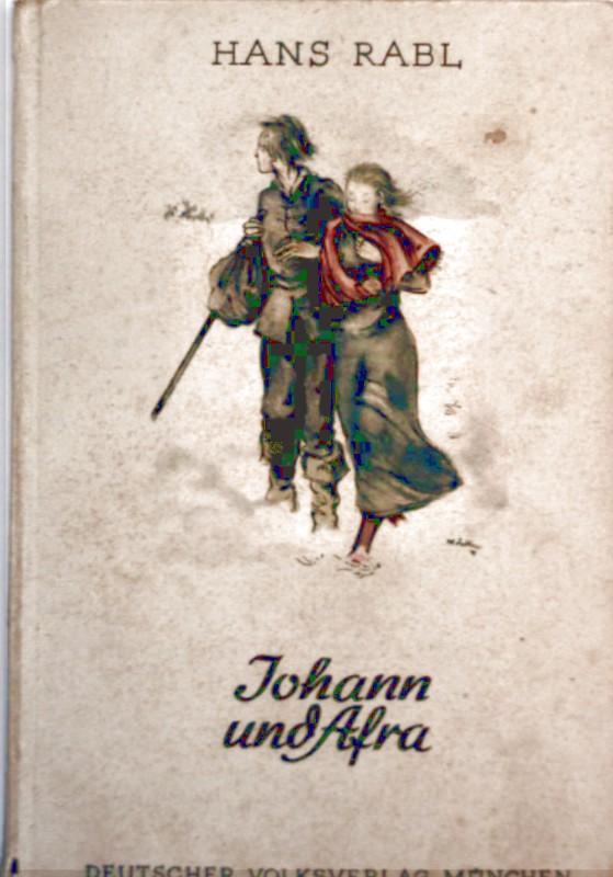 Johann und Afra - Der Wettlauf mit dem Tod von Eger [mit Schwarzweiß-Zeichnungen illustriert] (Novelle)