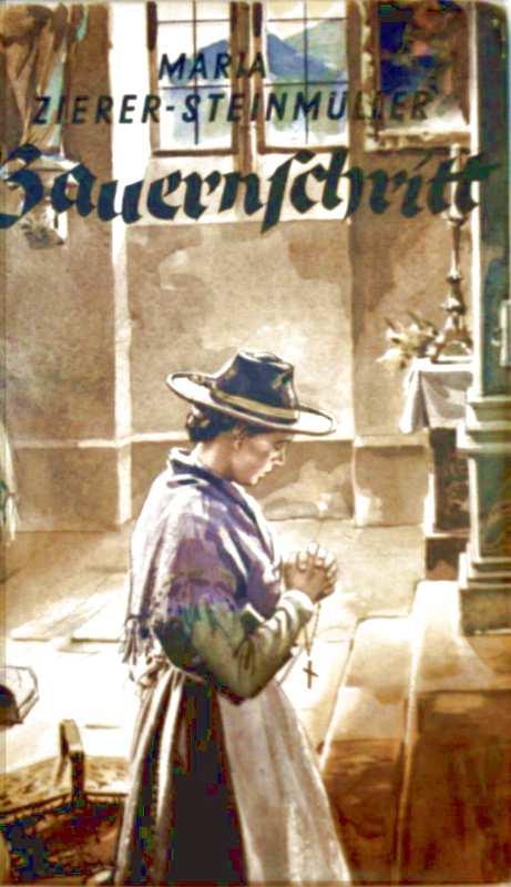 Heimat, Bauer, Schicksal, Liebe, Gefängnis, Vergangenheit, Krieg - Zierer-Steinmüller, Maria: Bauernschritt (Heimatroman)
