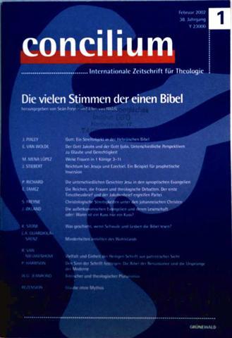 Sean Freyne (Hrsg.), Ellen van Wolde (Hrsg.): Die vielen Stimmen der einen Bibel (concilium. Internationale Zeitschrift für Theologie) 38/1