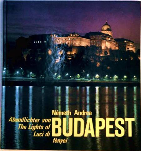 Abendlichter von Budapest/ The Ligths of Budapest/ Luci di Budapest/ Budapest fényei
