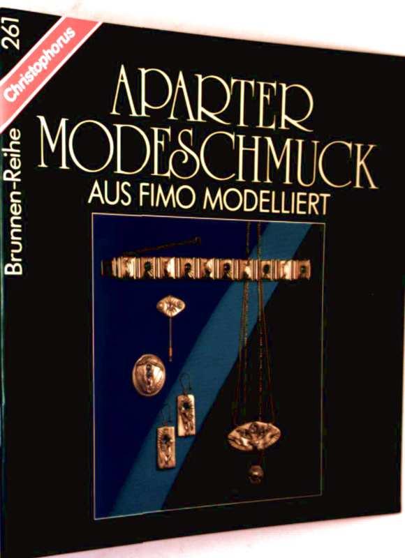 Aparter Modeschmuck aus Fimo modelliert. (Brunnen-Reihe 261)