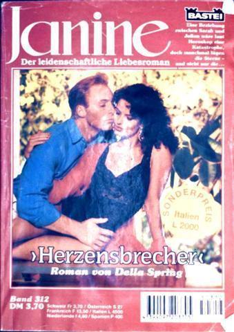 Janine - der leidenschaftliche Liebesroman Nr. 312, Herzensbrecher - ein leidenschaftlicher Liebesroman
