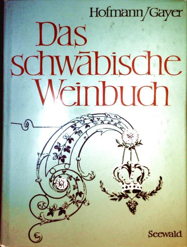 Das schwäbische Weinbuch