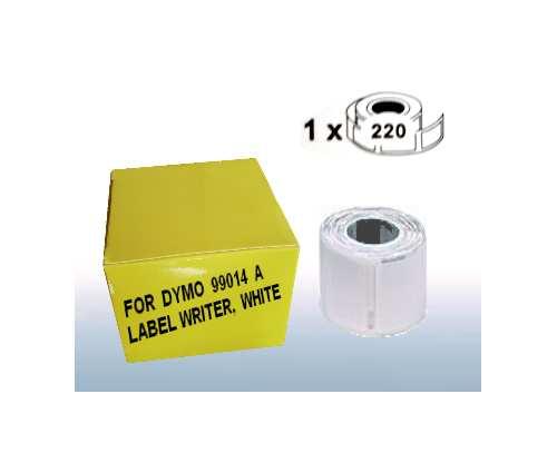 Versand-Etiketten No. 99014A, Kompatibel zu Dymo Label Writer, Kompatible Größe zu 54 x 101 mm, Farbe: weiss, Permanent klebend, 220 Etiketten pro Rolle