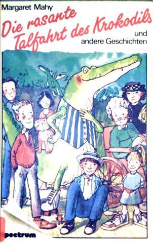 Die rasante Talfahrt des Krokodils und andere Geschichten  [schwarzweiß illustriert]