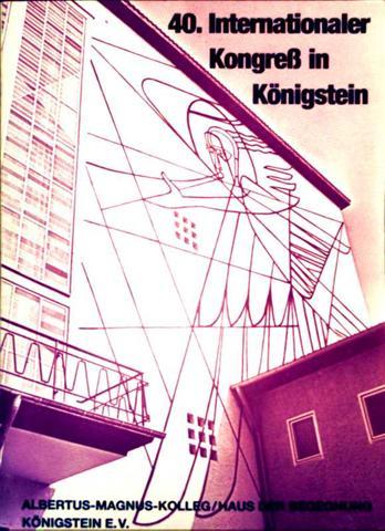 40. Internationaler Kongreß in Königstein, Kirche in Not - Band XXXVIII: Aufbruch im Osten, Herausforderung für die Kirche
