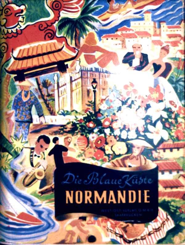 Normandie - Touristik, Landschaft, Vegetation