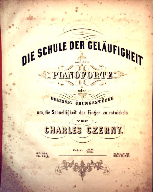 Die Schule der Geläufigkeit auf dem Pianoforte. OP.299/Ch.3 - Stücke: No.21 bis No.30