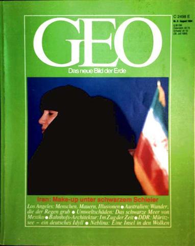 Geo Magazin 1984, Nr. 08 August - Iran: Make-up unter schwarzen Schleier