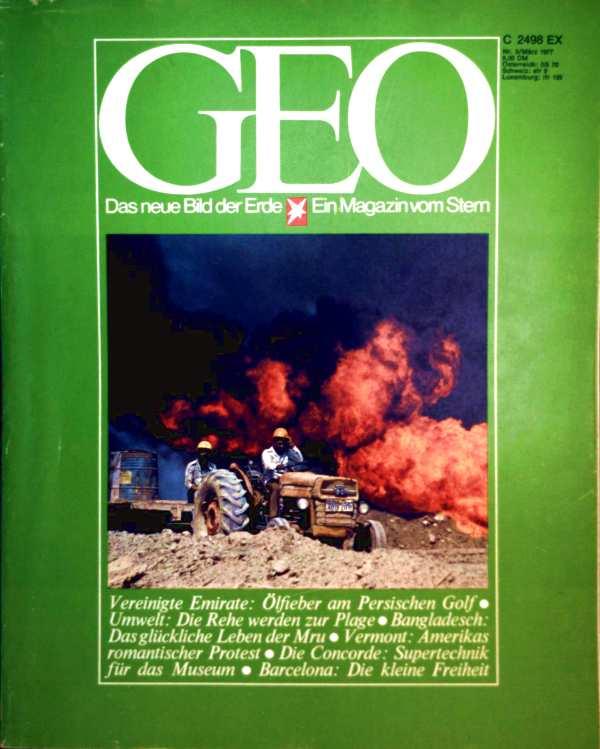 Geo Magazin 1977, Nr. 03 März - Vereinigte Emirate Ölfieber am persischen Golf, Umwelt Die Rehe werden zur Plage