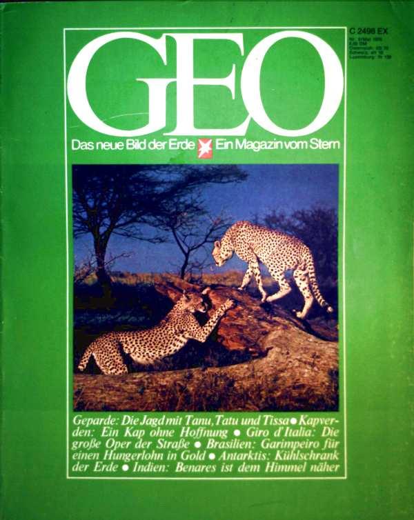 Geo Magazin 1978, Nr. 05 Mai - Gepard: die Jagd mit Tanu, Tatu und Tissa, Kapverden: ein Kap ohne Hoffnung, Giro d