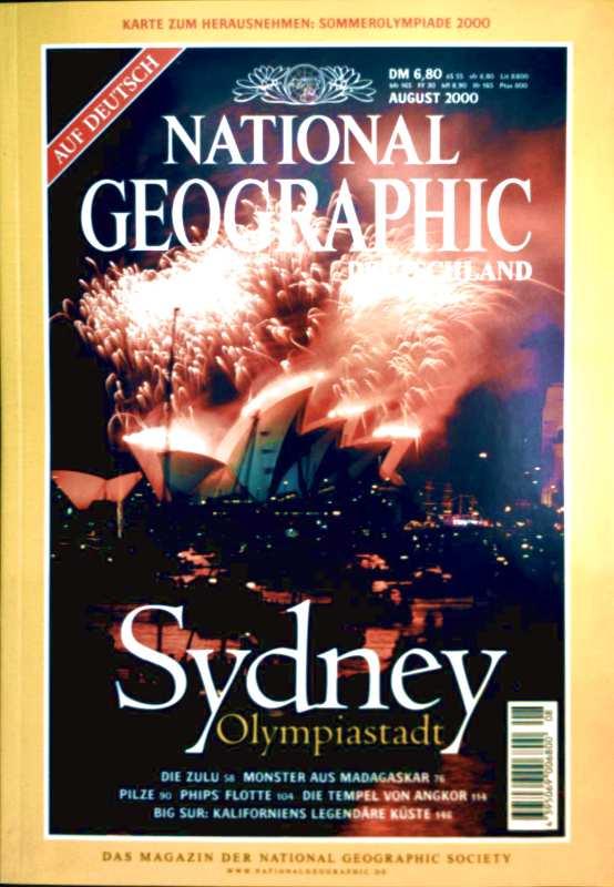 NATIONAL GEOGRAPHIC DEUTSCHLAND 2000 August - Sydney Olympiastadt