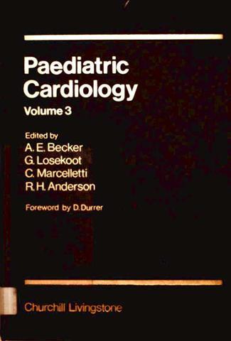 Paediatric Cardiology, Volume 3