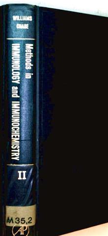 Methods in Immunology and Immunochemistry, Volume II: Pysical and Chemical Methods
