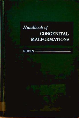 Handbook of Congentital Malformations