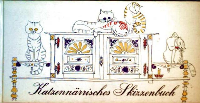 Katzennärrisches Skizzenbuch
