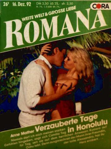 Romana, weite Welt und große Liebe Nr. 931 - verzauberte Tage in Honolulu