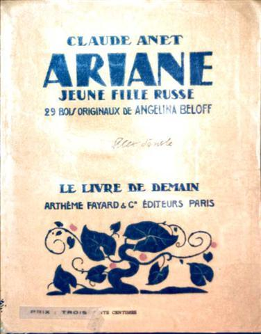 Ariane, Jeune Fille Russe - [29 Bois Originaux de Angelina Beloff]