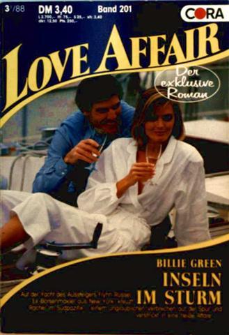 Love Affair, der exklusive Roman Nr. 201 - Inseln im Sturm