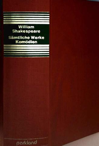 William Shakespeare - Bd. 1: Komödien