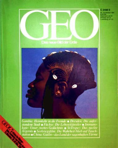 Geo Magazin 1981, Nr. 10 Oktober - Gambia: Heimkehr in die Fremde, Dresden: die auferstandene Stadt, Füchse: die Lebenskünstler...