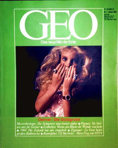 Geo Magazin 1984, Nr. 01 Januar - Denver die Goldgrube