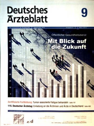 Deutsches Ärzteblatt 2012,  Nr. 09 Ausgabe A - öffentlicher Gesundheitsdienst mit Blick auf die Zukunft, Tumore-assozierte Fatigue behandeln