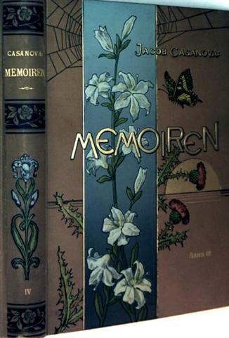 Jacob Casanova, Gustav von Joanelli (Bearbeitung): Casanova Memoiren, Bd. 4 - mit kunstvoll ausgeführten Illustrationen versehene Prachtausgabe
