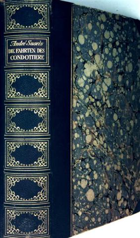 Die Fahrten des Condottiere - eine italienische Reise mit Schwarzweiß-Bildern illustriert