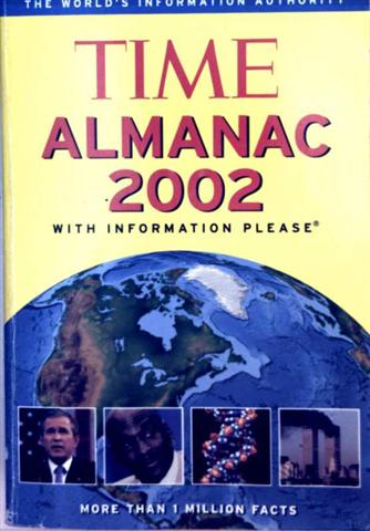 Time Almanac 2002 - With Information Please, More Than 1 Million Facts