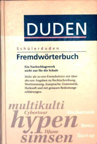 Duden, Schülerduden - Fremdwörterbuch