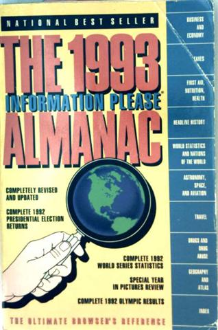 The 1993 Almanac - Information Please - The Ultimate Browsers Reference