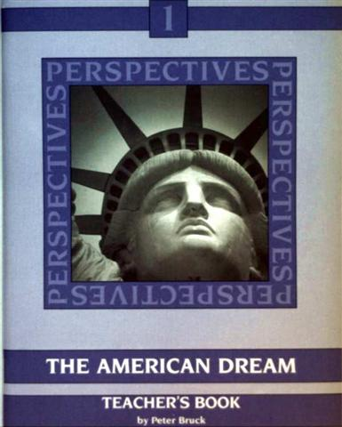 Perspectives - Bd.1: The American Dream, Past and Present, Theacher