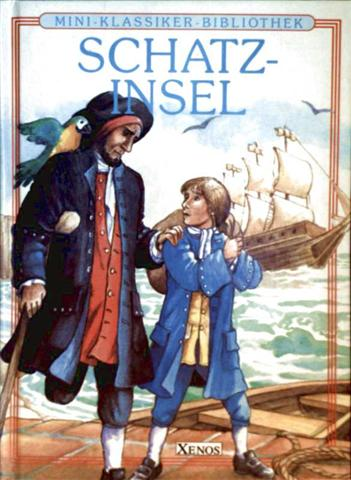 Die Schatzinsel (Mini-Klassiker-Bibliothek - Kurzfassung der Originalgeschichte)