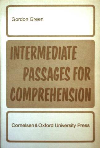 Intermediate passages for comprehensions  (Lehrerbeilage: Key to Answers Intermediate Passages For Comprehension - als Kopie)