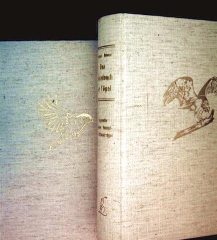 Das Bilderbuch der Vögel, 2 Bände - Bd.1: Das Bilderbuch der Vögel, Bd. 2:  Taggreife, Wasser-, Sumpf- und Hühnervögel