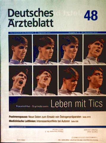 Deutsches Ärzteblatt, November 2012, Nr. 48 - Tourette-Syndrom Leben mit Tics, Postmenopause neue Daten zum Einsatz von Östrogenpräparaten