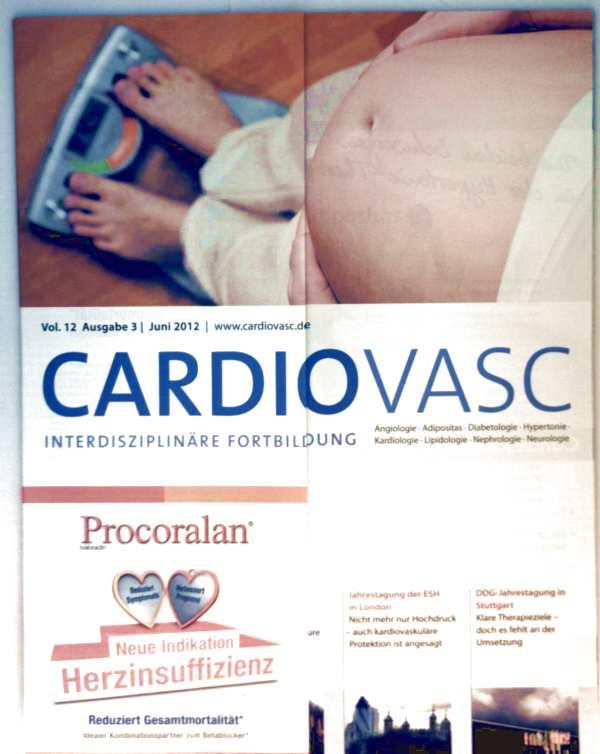 Cardiovasc, Vol. 12 Ausgabe 3, Juni 2012 - Adipositas, Gewichtsmanagement vor und während der Schwangerschaft