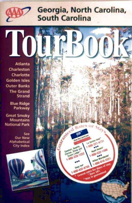 AAATourBook - Georgia, North Carolina, South Carolina