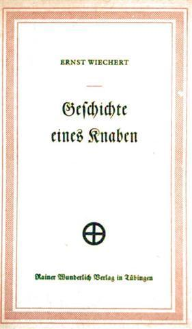 Geschichte eines Knaben (Erzählung aus dem Buch: Der silberne Wagen)